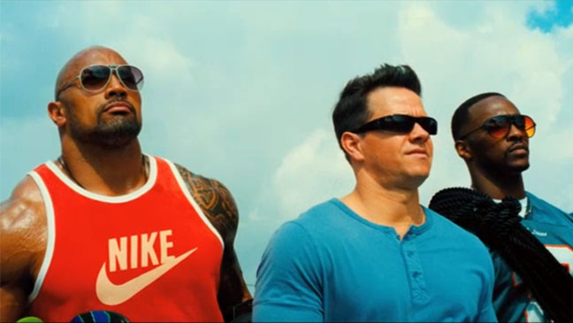 The Rock in Pain and Gain