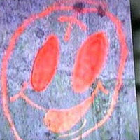 smiley face graffiti